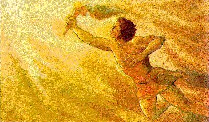 Para empezar una facilita. ¿Qué animal hacía cumplir el castigo que Zeus le impuso a Prometeo y cómo?