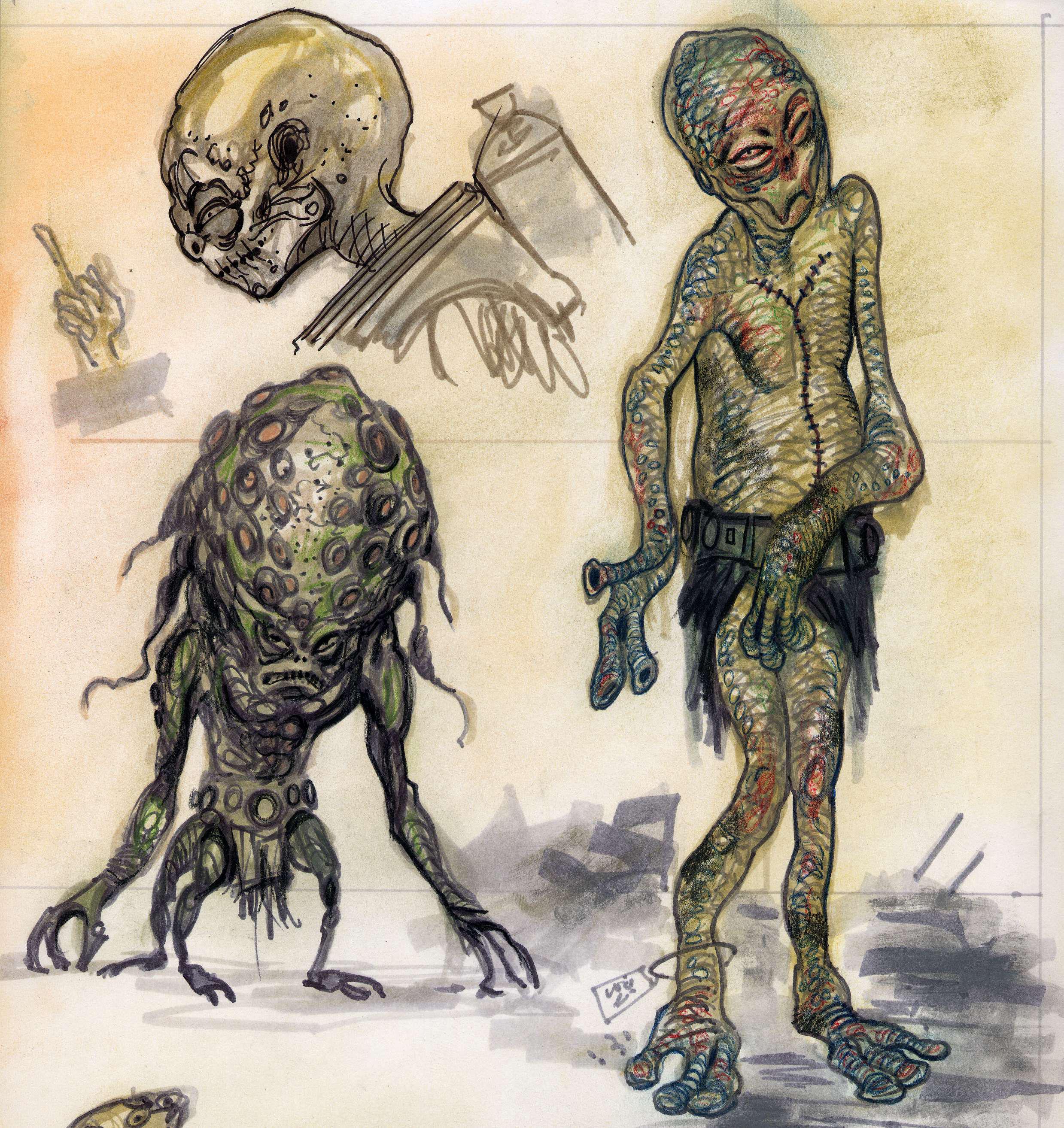 ¿Cómo se llama la raza alienígena que aparece en el universo Fallout?