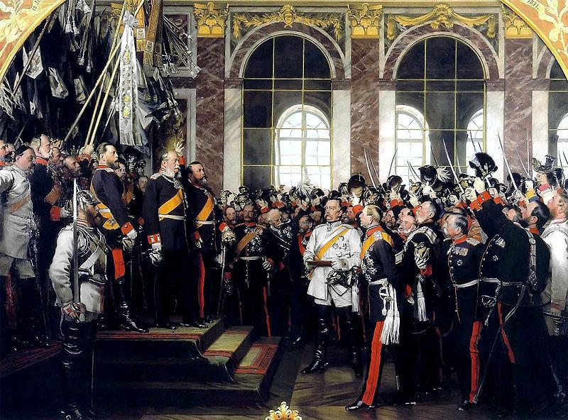 ¿Quién fue el principal impulsor de la creación del II Reich alemán?