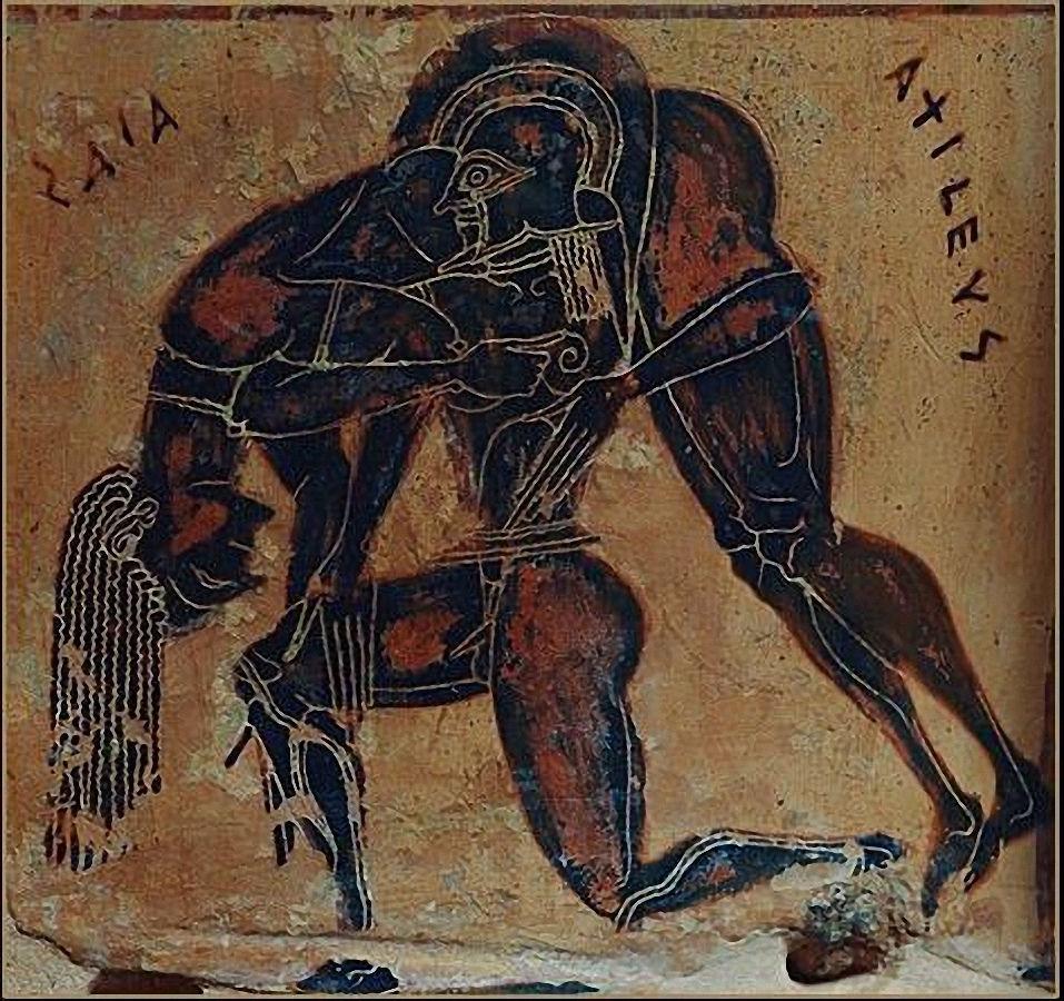 Esta sobre la Guerra de Troya: ¿Llegó Aquiles a entrar a Troia con el caballo hecho de madera?