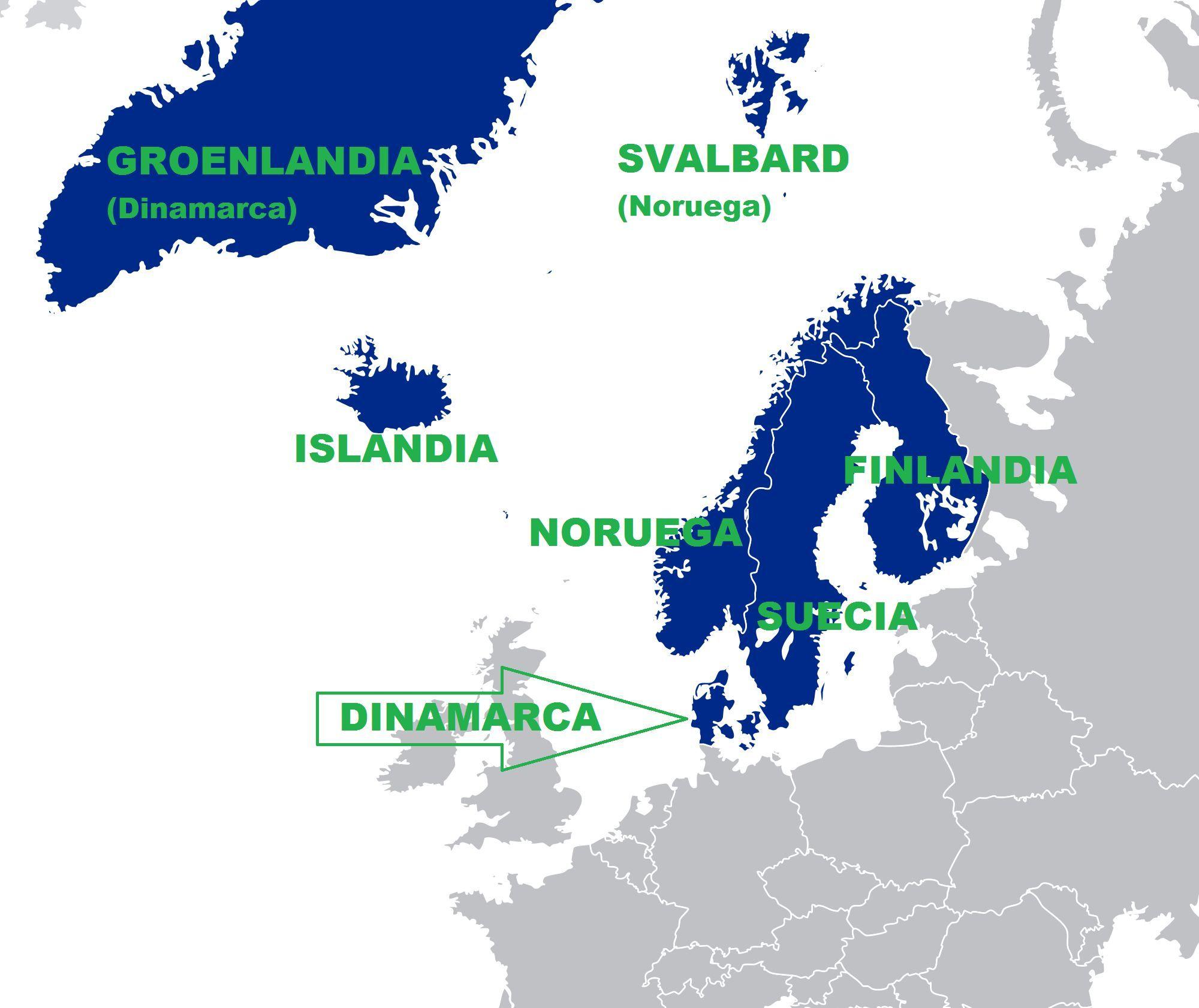 Todos los países nórdicos tuvieron un pasado vikingo.