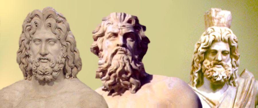 Quinta: ¿Cuál de los tres hermanos tiene un carácter más fuerte y malo: Zeus, Poseidón o Hades?