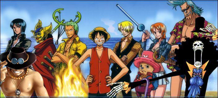 3143 - One Piece - ¿A qué personaje de la tripulación de los sombrero de paja te pareces?
