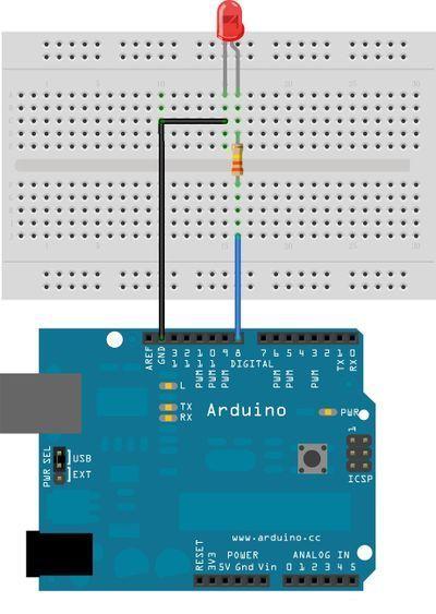 ¿Cuál es el programa que emula la placa arduino?