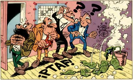 Hablando de pioneros, ¿cómo se llamó el primer cómic largo de la historia de Mortadelo y Filemón?
