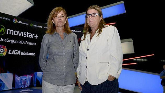Los dos equipos con una presidenta mujer en Segunda División son...