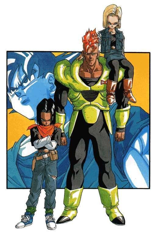 ¿Cuántos androides creados por Guero aparecen en toda la serie (incluido películas)?