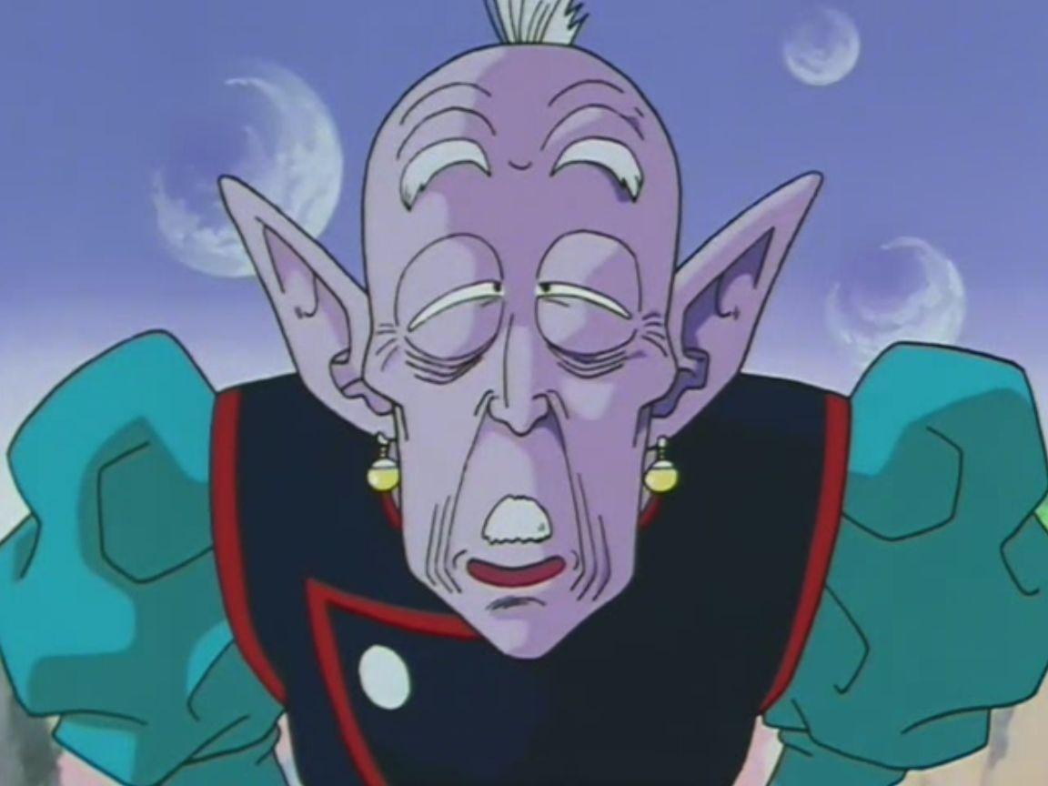¿Quién encerró al anciano Kaioshin en la espada Z?