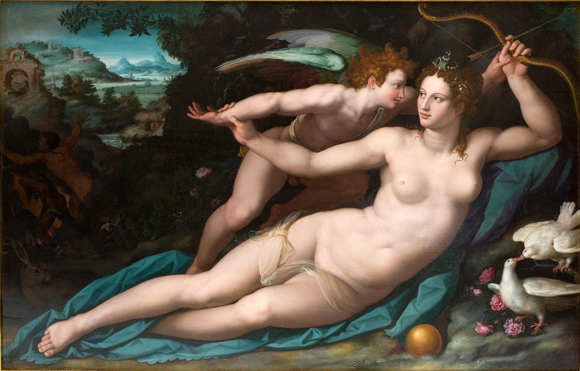 Esta tiene algo de trampa. ¿Cuál era el dios/ la diosa del amor en la mitología griega?