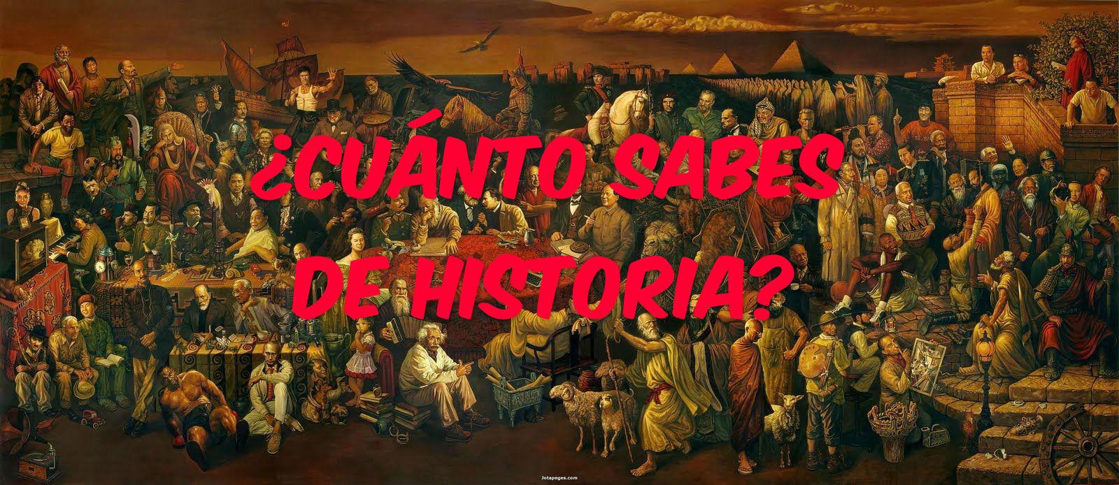 3309 - ¿Cuánto sabes de historia?