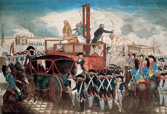 ¿Cuando comenzó y acabó la Revolución francesa?