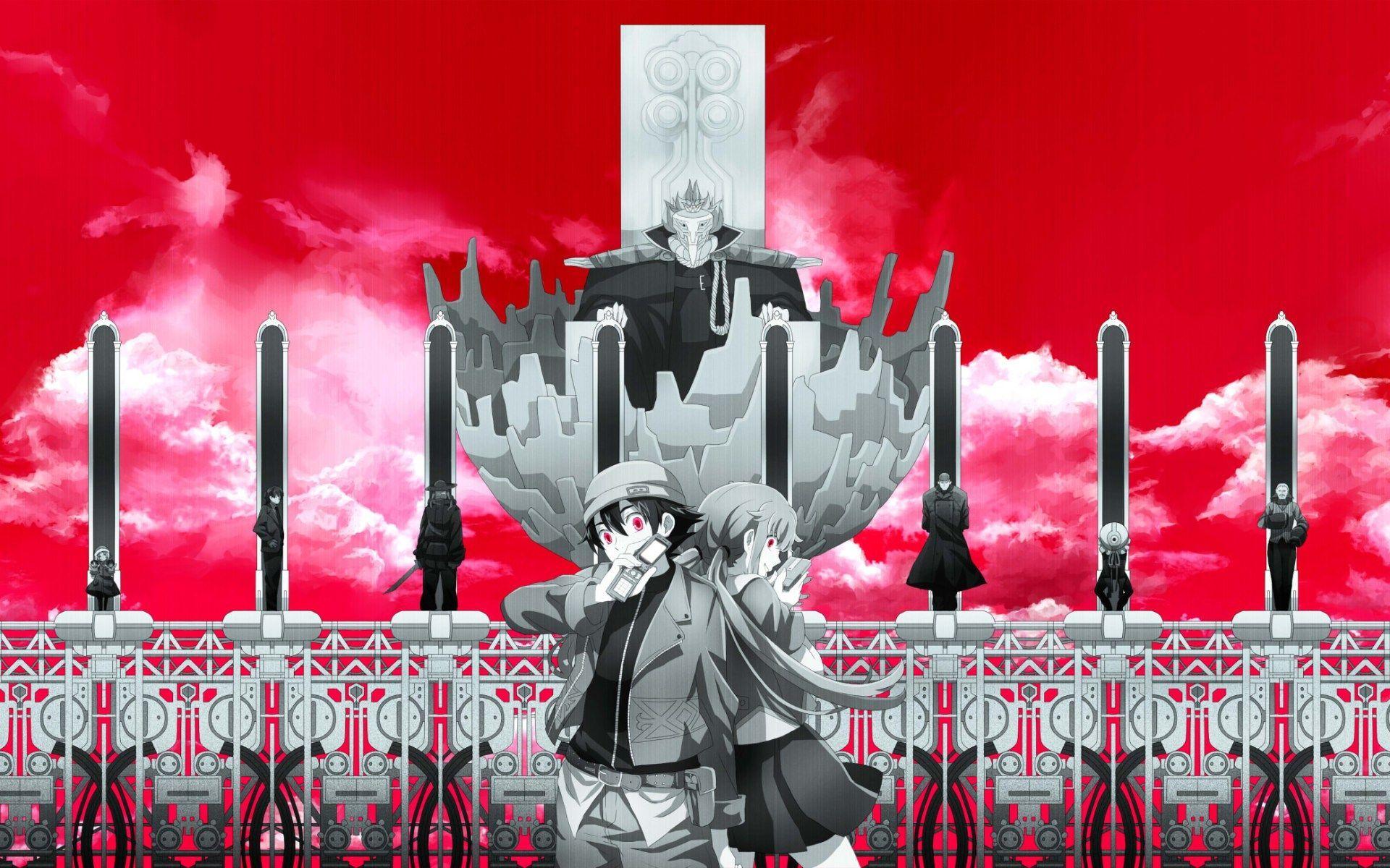 3307 - ¿Cuánto recuerdas de anime Mirai Nikki?