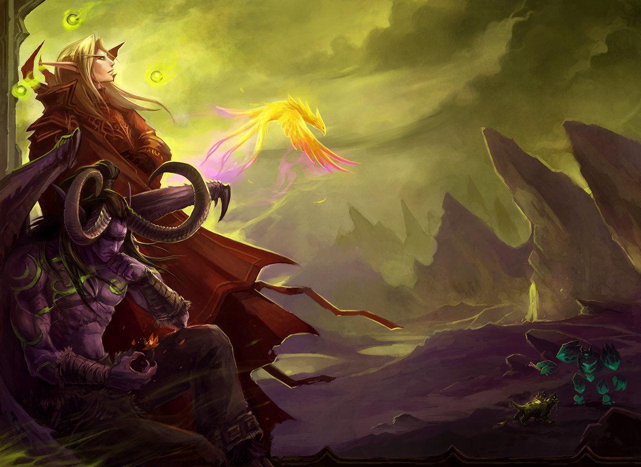 El Príncipe Kael'thas, tras la muerte de Illidan, se une a la Legión de Fuego. ¿Cuál es el final del malvado príncipe?