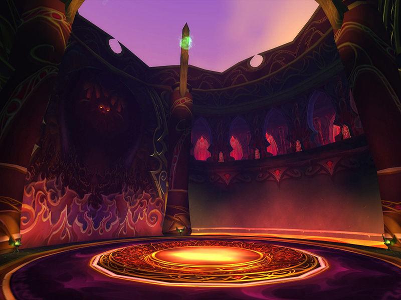 El plan final de la Legión de Fuego es utilizar el Pozo del Sol para invocar a su señor (el cual es el boss final). ¿Quién es?