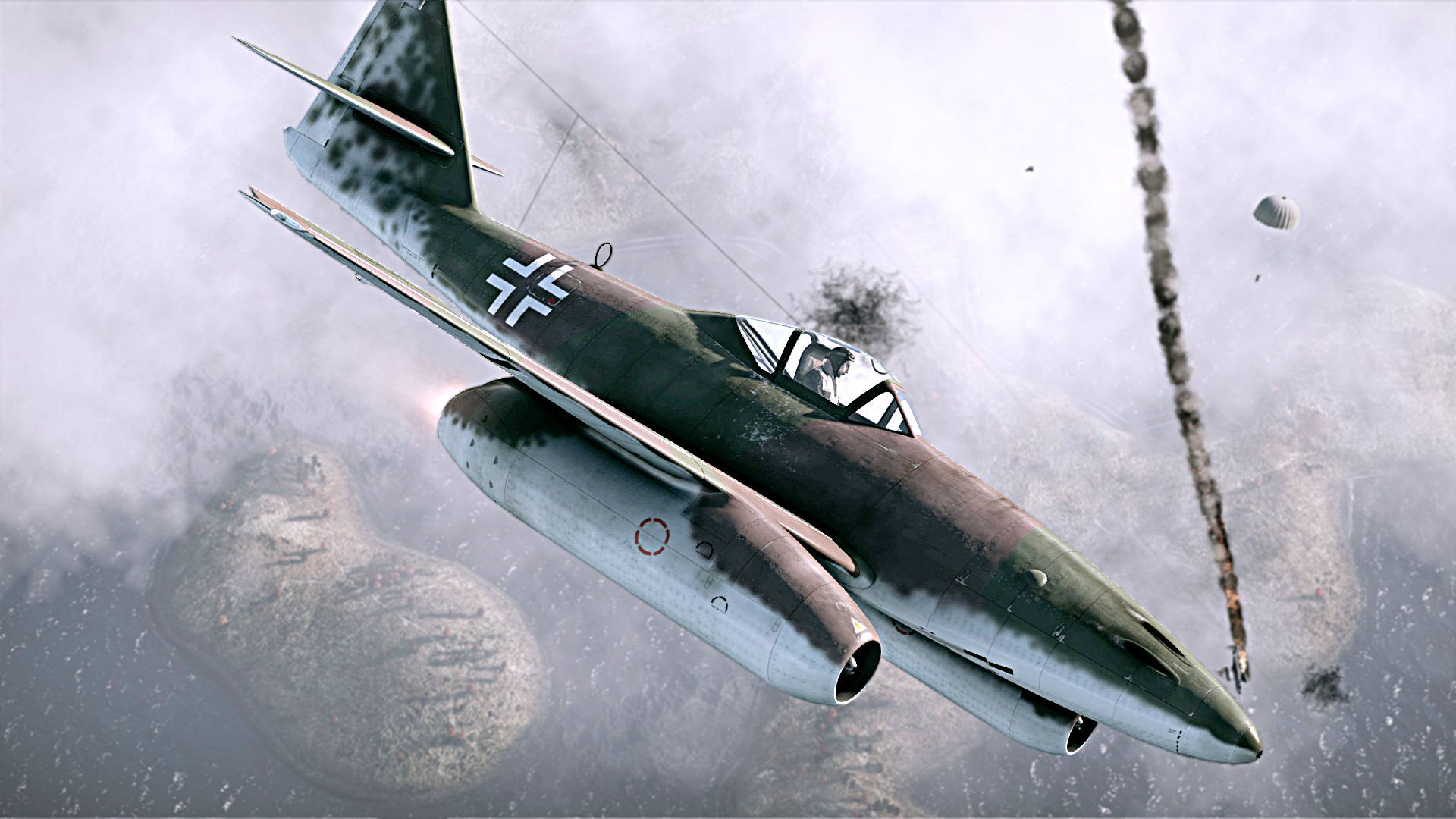 3493 - Aviones alemanes de la II Guerra Mundial (Nivel Avanzado)