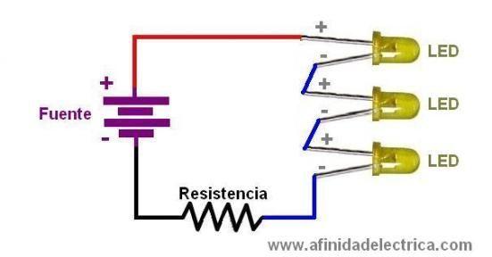 En un circuito como el de la imagen ¿qué pasará?