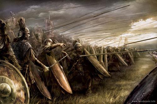 Supongamos que mantienes tus armas, ¿Dónde te posicionarías en la batalla?