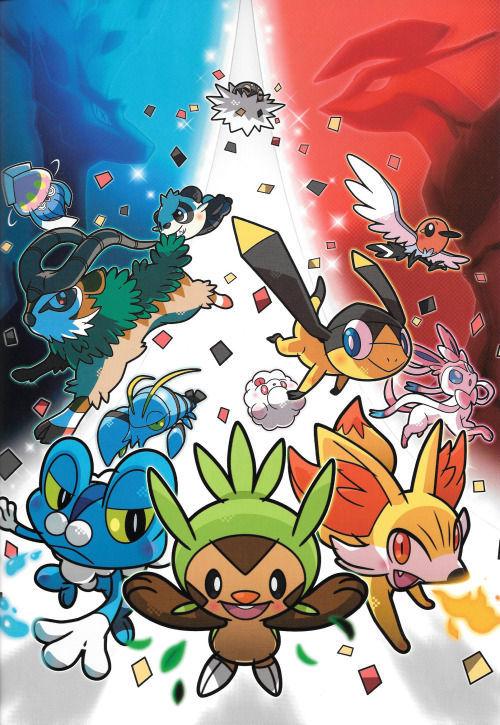 ¿Cúantos tipos de pokémon existen durante la sexta generación (Pokémon X&Y)?