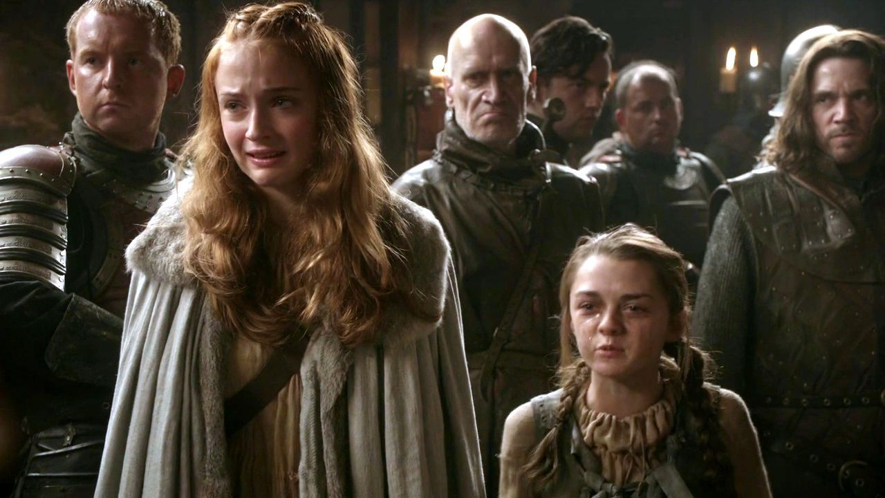 ¿Sansa Stark o Arya Stark?