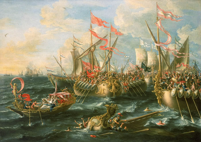La Batalla de Accio enfrentó a Octavio (mediante Agripa) y a Marco Antonio pero, ¿dónde está Accio?