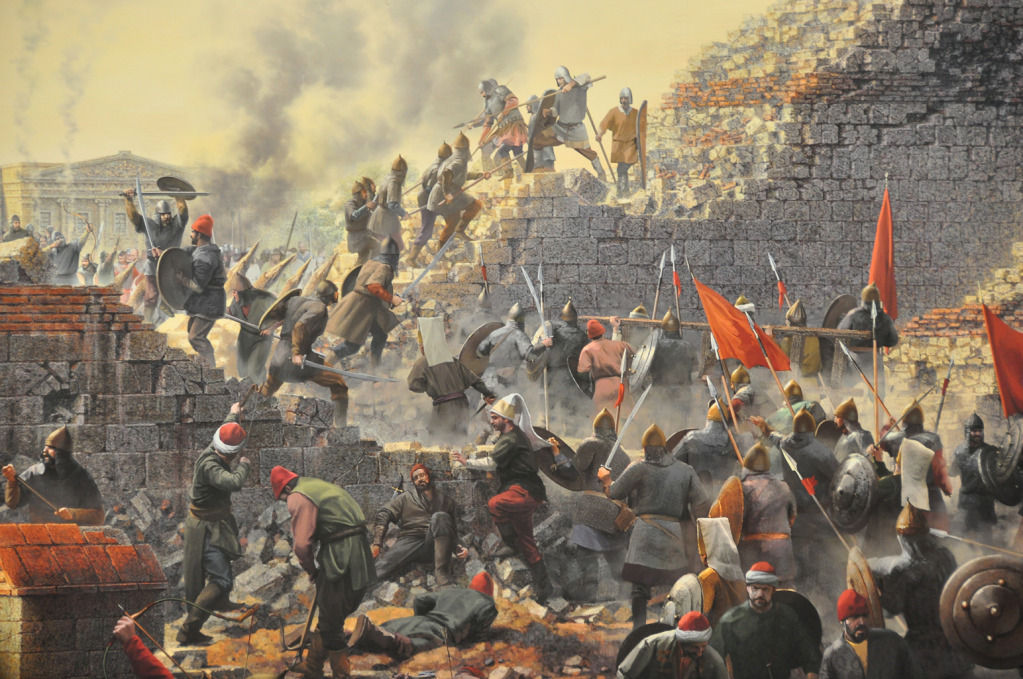 La Caída de Constantinopla supuso para muchos historiadores el fin de la Edad Media en Europa. ¿Qué Imperio desapareció?