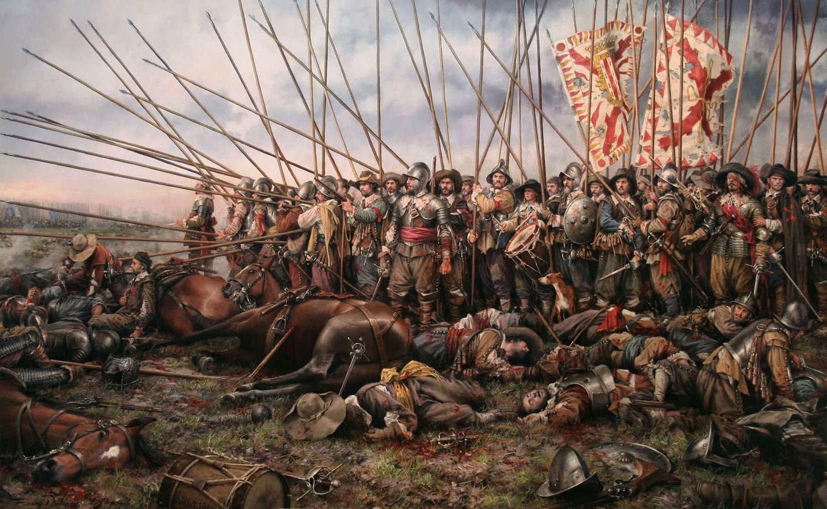 La Batalla de Rocroi es muy conocida por ser el principio del declive de los Tercios Españoles pero, ¿a qué guerra pertenece?