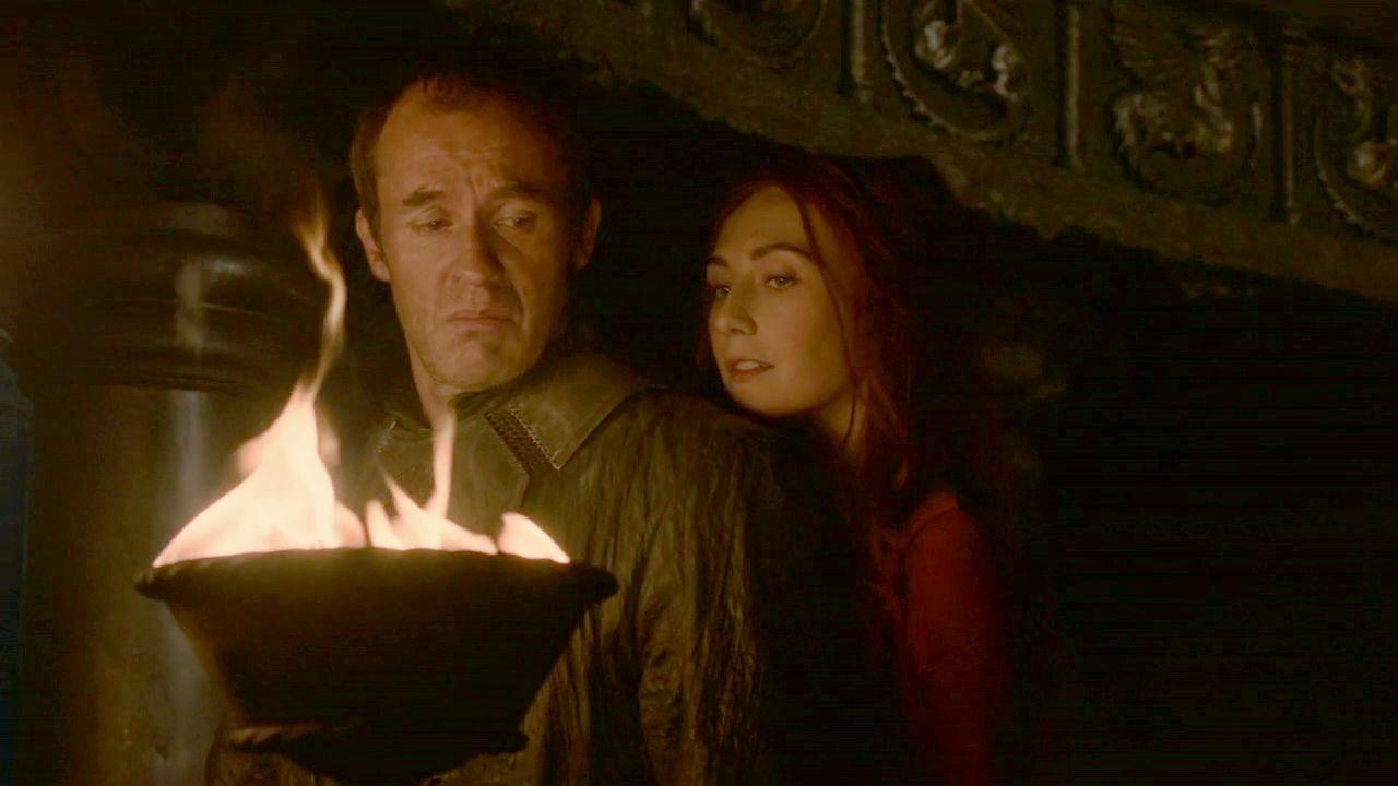 ¿Stannis Baratheon o Melisandre?