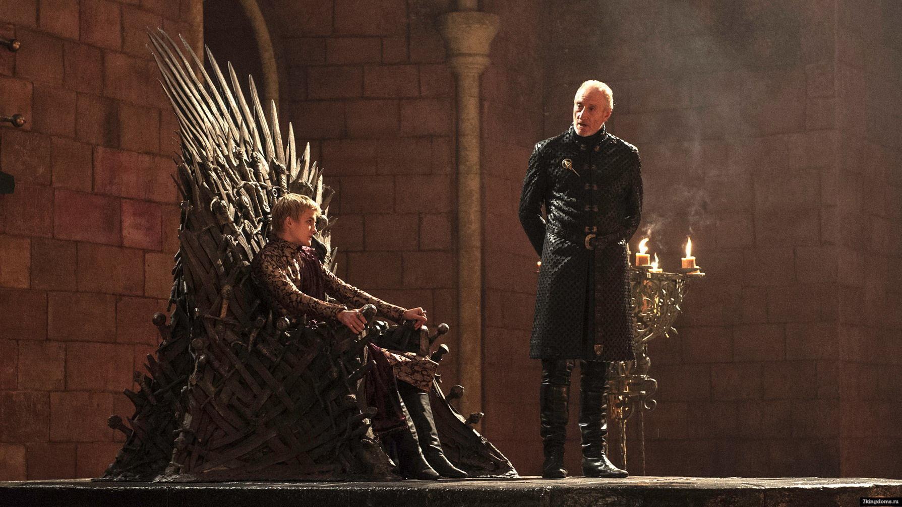 ¿Joffrey Baratheon o Tywin Lannister?