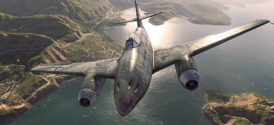 ¿Cuál fue el primer caza a reacción de la SGM?