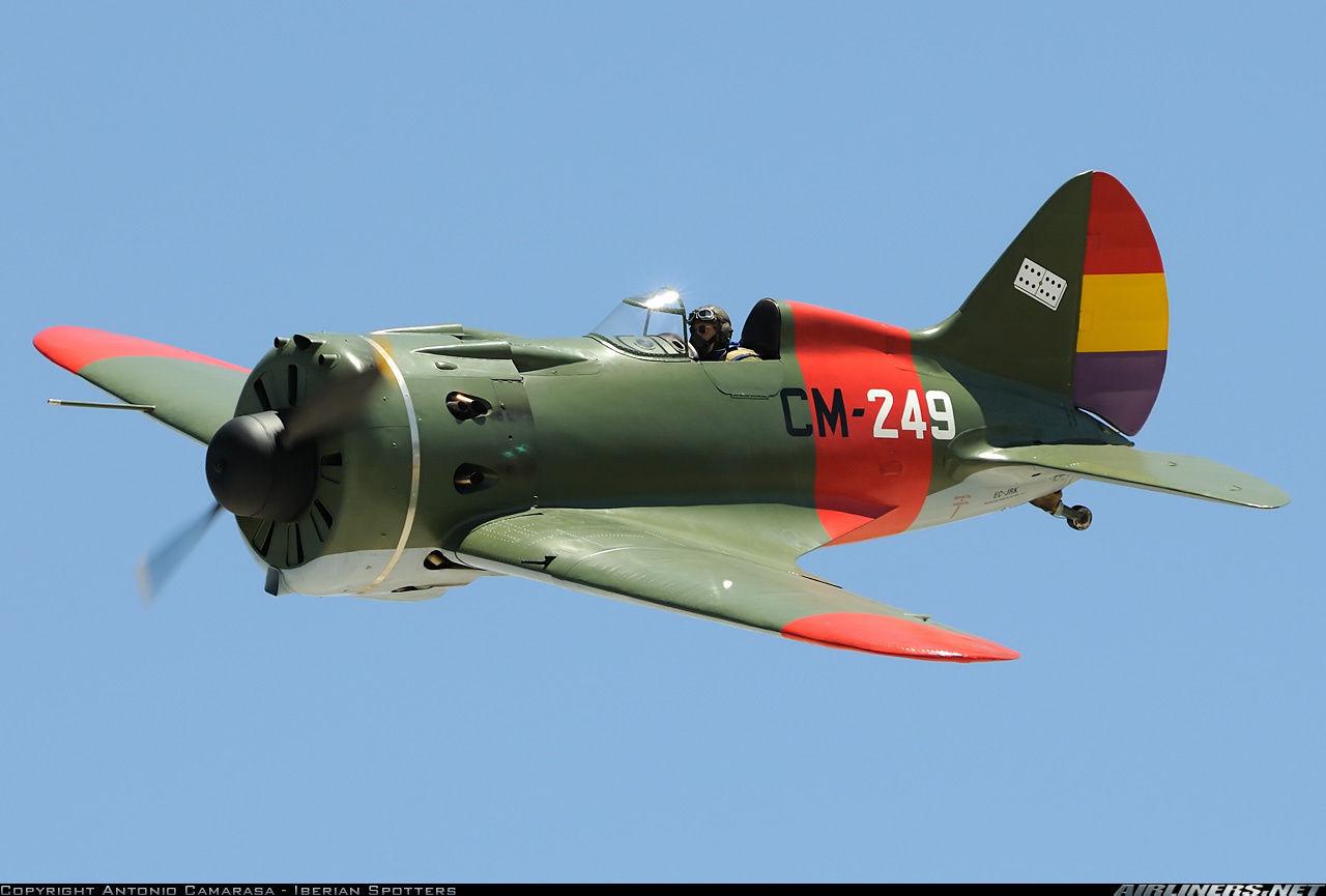 ¿ Qué avión no combatió en la Guerra Civil española?