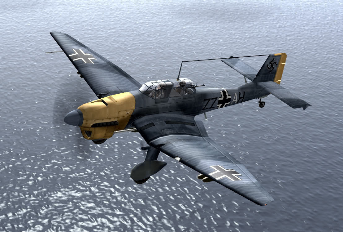 ¿ Qué clase de avión era el Ju-87 Stuka?