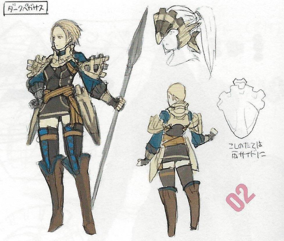 En Fire Emblem: Awakening, ¿qué habilidad es exclusiva del Dark Flier?