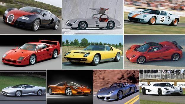 3940 - ¿Reconoces estos superdeportivos de lujo?