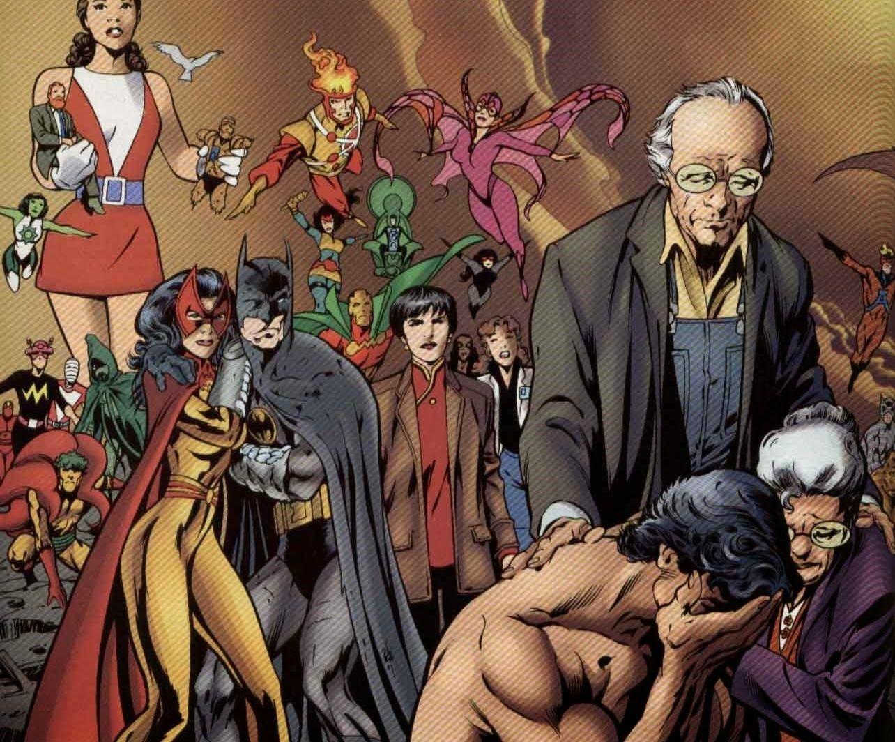 ¿Qué miembro de la JL en la continuidad regular no es miembro de la misma en JLA: El clavo?