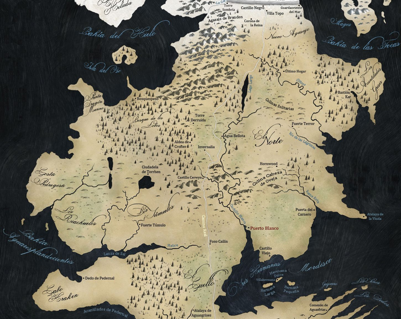 ¿Dónde se asentaban los Greystark?
