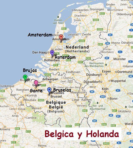 Empecemos con lo difícil ahora... ¿Cuántos enclaves tiene Bélgica en Holanda?