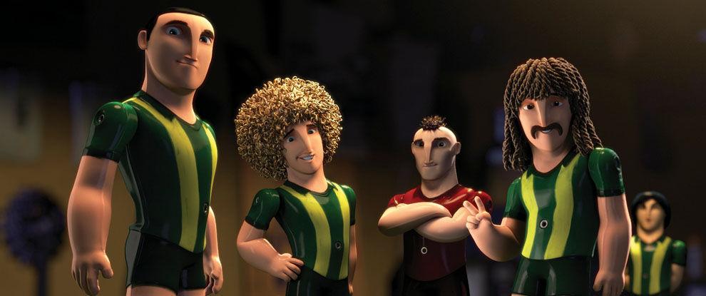 ¿Cómo se llama el protagonista de Metegol (Futbolín)?