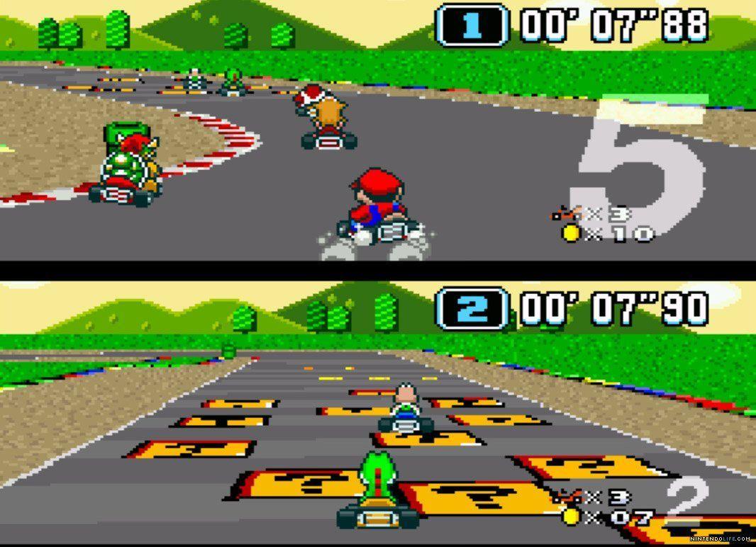 ¿En qué año salió el primer juego de Mario Kart?