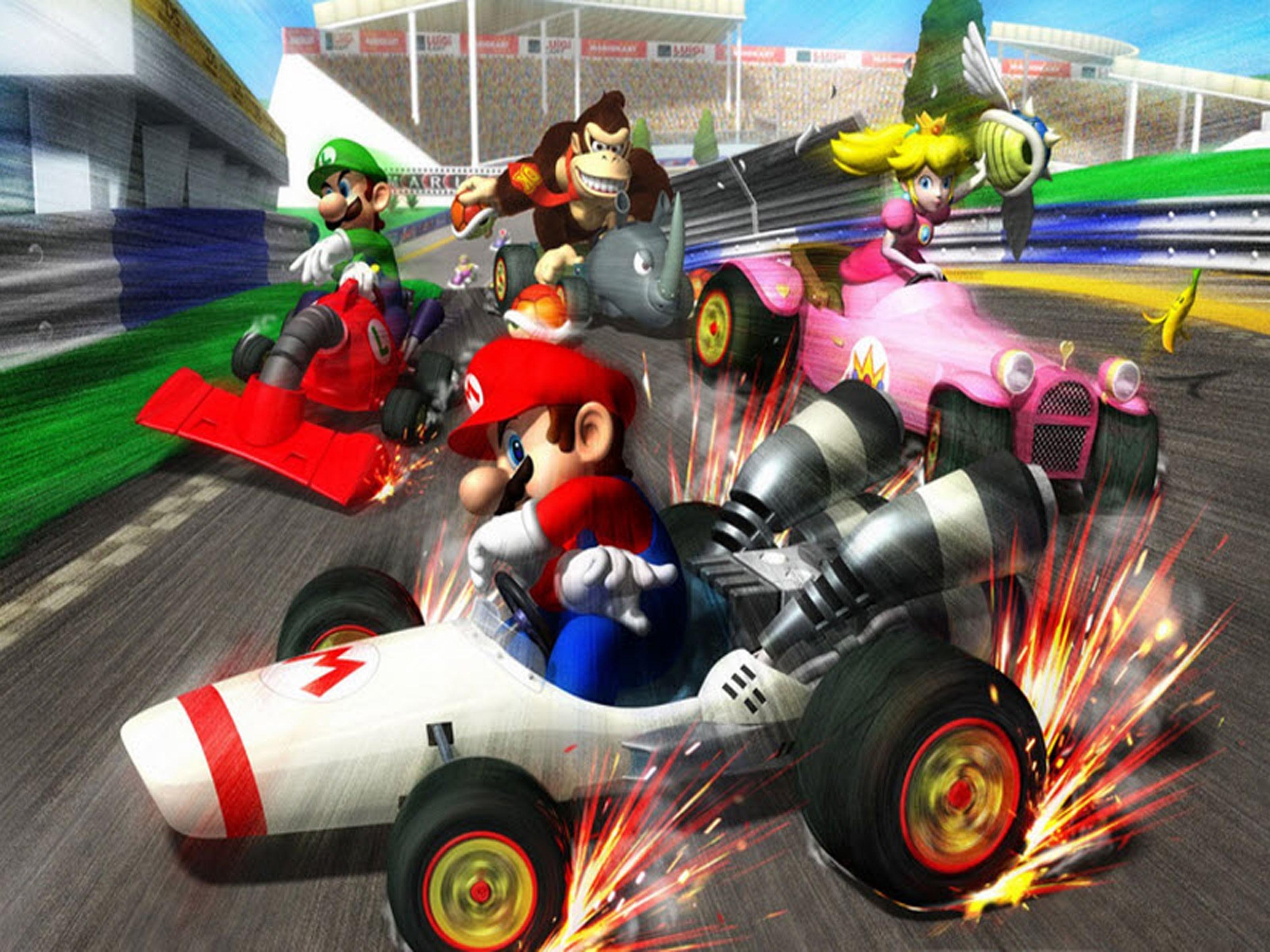 ¿Cuál de estos personajes solo es jugable en el juego de Mario Kart DS?