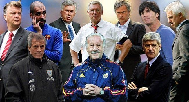 4032 - ¿Reconocerías a estos entrenadores en su época de jugadores?
