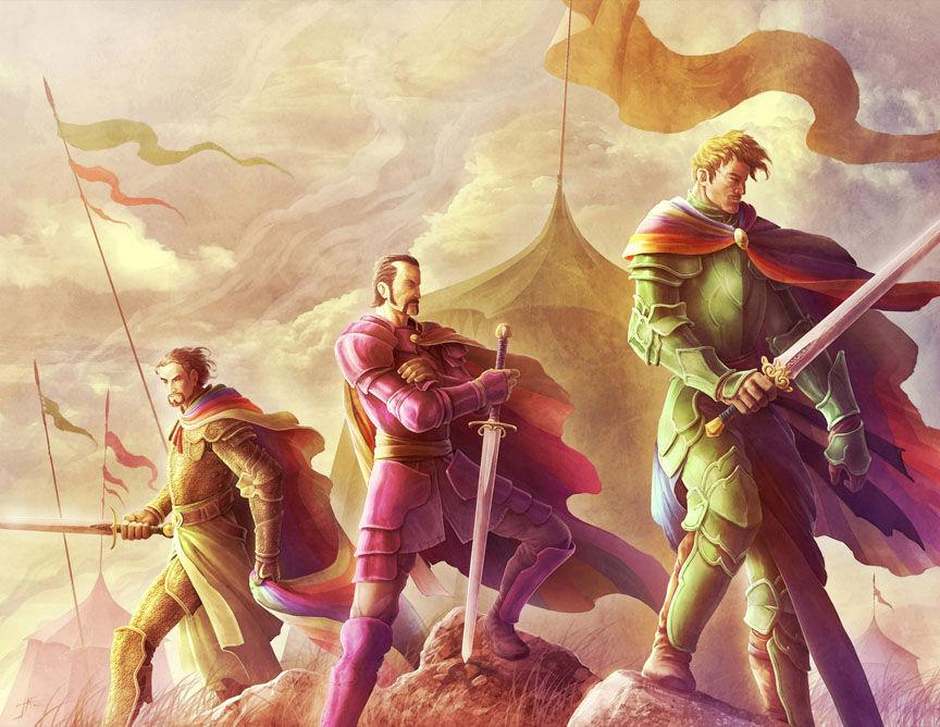 ¿Quién creó la Guardia Arcoiris?