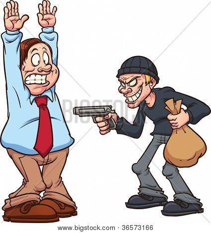 Ves que le están robando a una persona ¡¿Qué haces?!