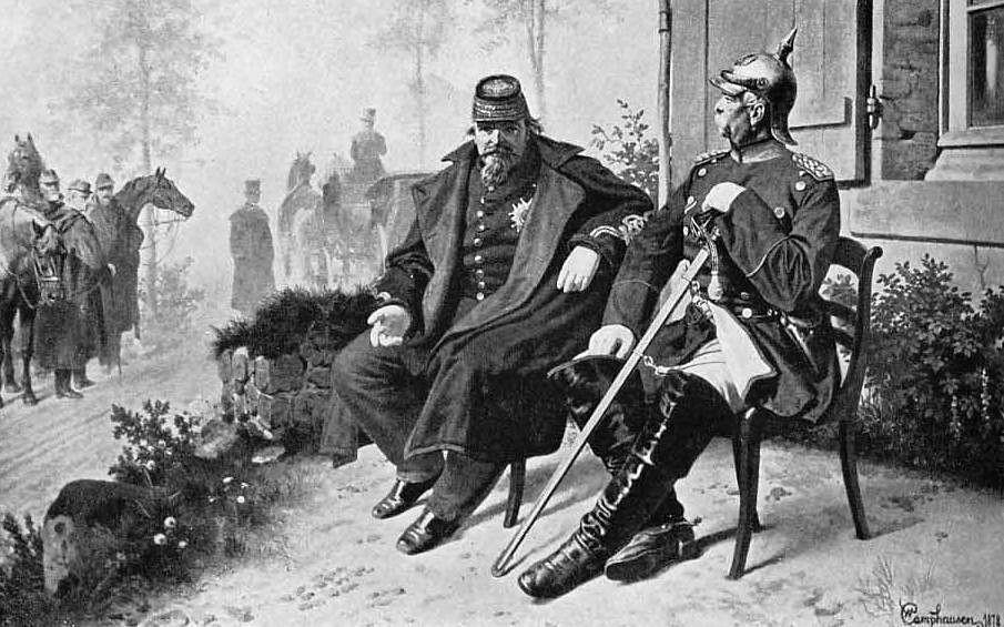 ¿Con qué batalla llegó el colapso del Segundo Imperio Francés y la captura de Napoleón III?