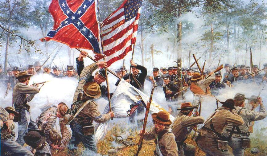 En la Guerra de Secesión se libró la mayor batalla en el continente americano. ¿Cuál es su nombre?