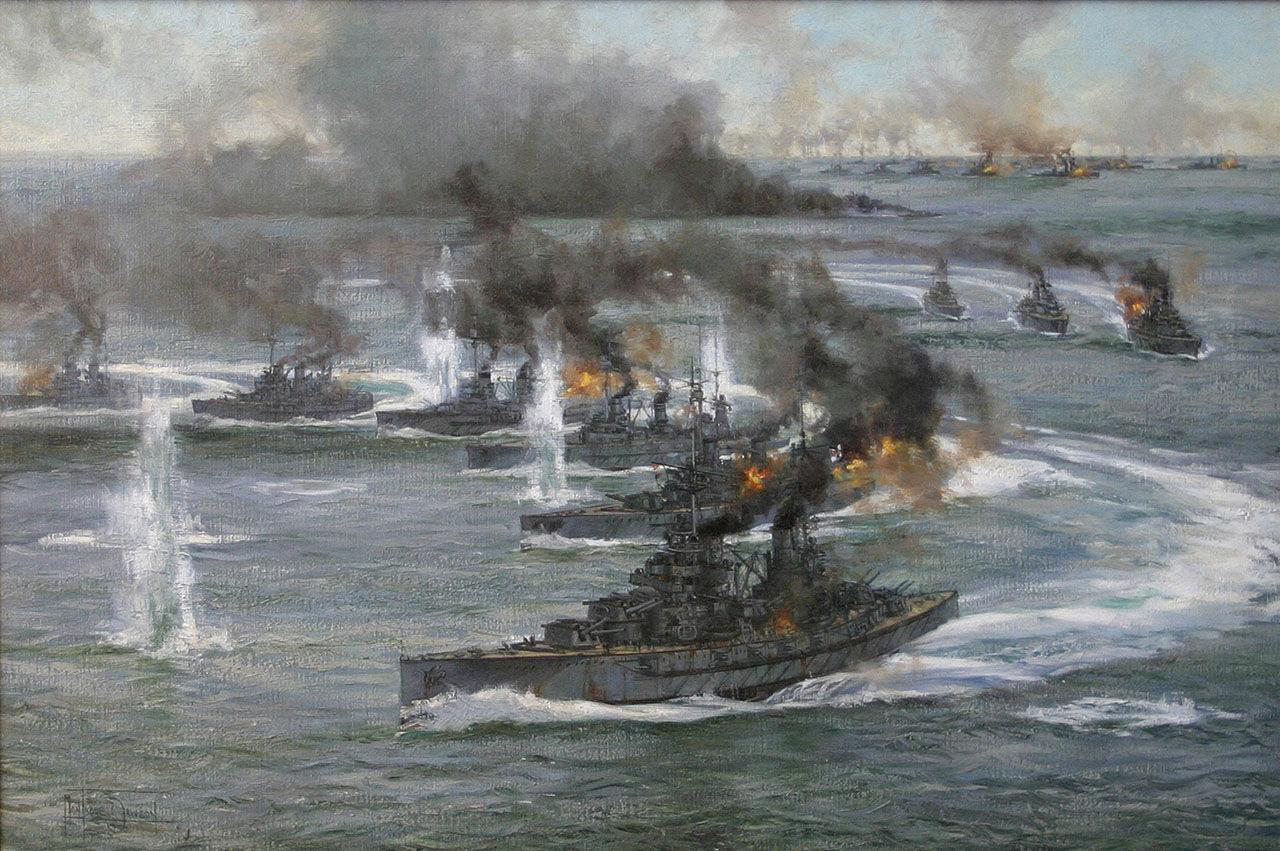 ¿Cuál fue la mayor batalla naval de la Primera Guerra Mundial?