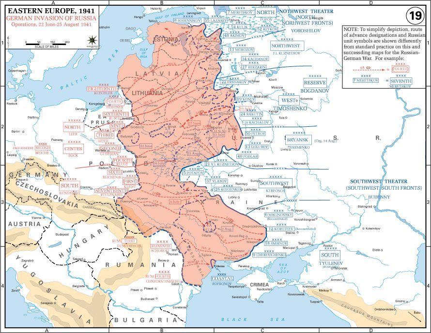 La invasión alemana a la Unión Soviética supuso un fracaso. ¿Cómo se llamaba la operación?