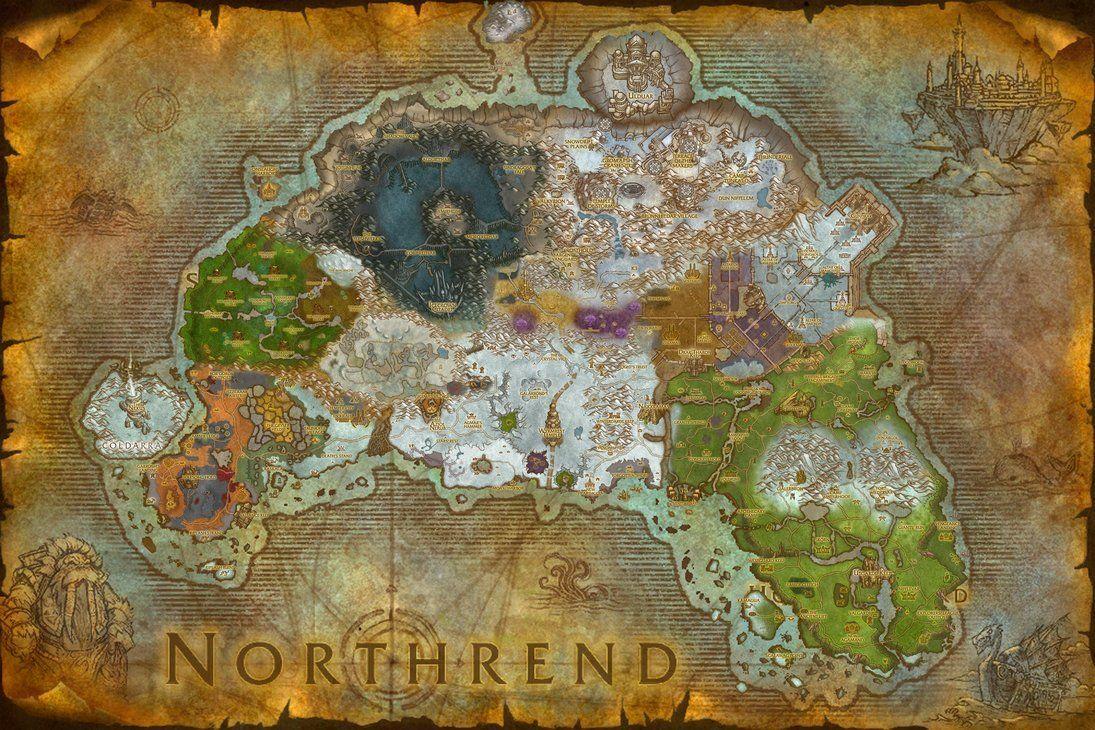 La Guerra comienza. La Horda y la Alianza envían tropas a Rasganorte. ¿Qué zona colocan sus bases principales?