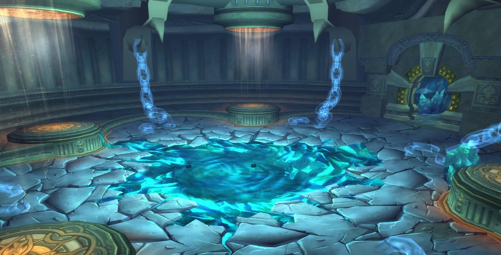 En mitad de la guerra, un Dios Antiguo se deshace de sus cadenas en Ulduar, una prisión de los titanes. ¿Cuál era su nombre?