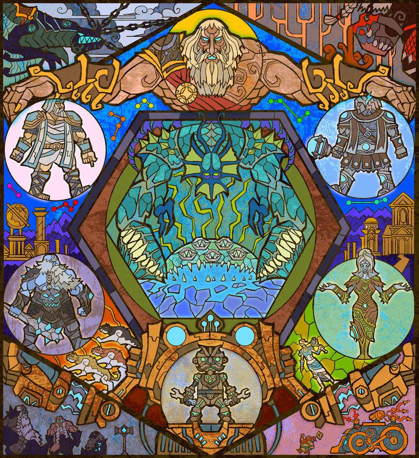 Los campeones deberán abrirse camino hasta la prisión del Dios Antiguo. ¿Contra quienes deberán luchar en la Antecámara?