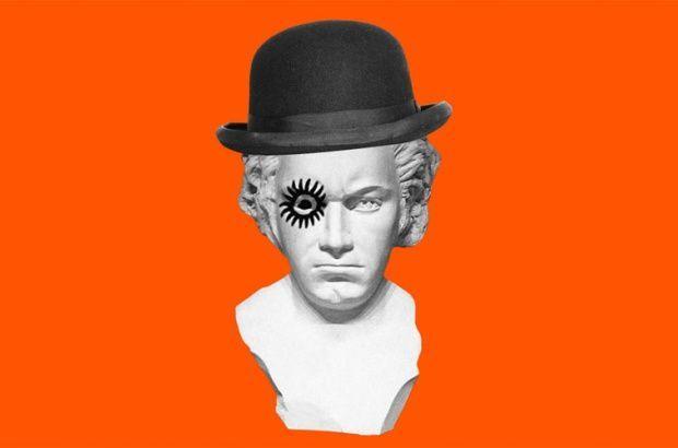 ¿Por qué Alex empieza a odiar la música de Beethoven, su compositor favorito?